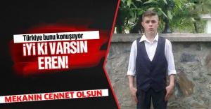 Maçka Şehidi Eren Bülbül'ü Binlerce Hemşehrisi Son Yolculuğuna Uğurladı