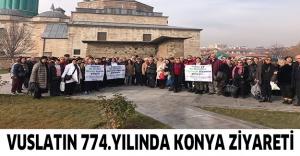 Vuslatın 774.yılında Konya ziyareti