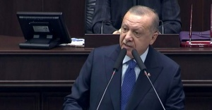AK Parti Meclis Toplantısı'na Gündoğdu Marşı damga vurdu