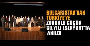 Bulgaristan'dan Türkiye'ye Zorunlu Göçün 30.Yılı Esenyurt'ta Anıldı