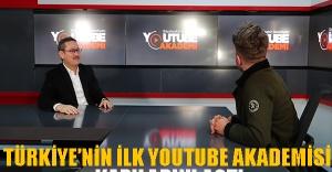 Türkiye'nin İlk Youtube Akademisine Kapılarını Açtı