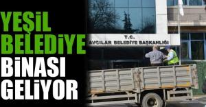 Yeşil Belediye Binası Geliyor