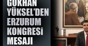 Gökhan Yüksel'den Erzurum Kongresi Mesajı