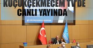 Kemal Başkan, 21 Mahalle Muhtarıyla Küçükçekmecem Tv'de Canlı Yayında