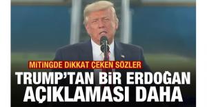 ABD Başkanı Trump'tan bir Erdoğan...