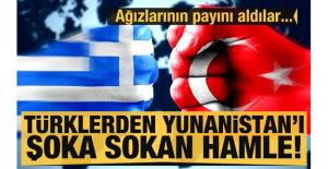 Türklerden Yunanistan'ı şok sokan...