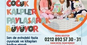 Esenyurtlu çocuklara oyuncak ve kitabını paylaşma bilinci aşılanacak