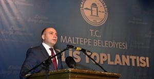 Azerbaycan Kültür Bakanı Maltepe'yi ziyaret etti.
