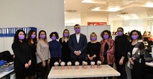 Başkan BOZKURT, kadın çalışanların gününü kutladı
