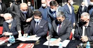 Beşiktaş Belediyesi'nde toplu iş sözleşmesi töreni gerçekleşti