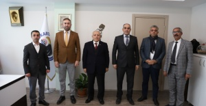 Cem Vakfı Sivas Şubesi'nden Kartal Belediyesi'ne Ziyaret