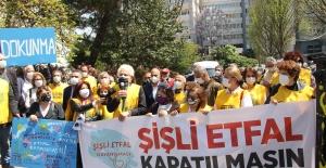 Keskin: Şişli Etfal'in peşkeş çekilmesine izin vermeyeceğiz