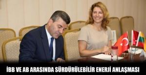 İbb ab arasında sürdürülebilir enerji anlaşması