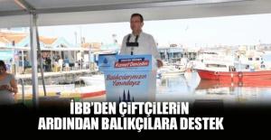 İBB'den çiftçilerin ardından balıkçılara destek