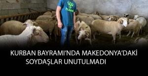 Kurban Bayramı'nda Makedonya'daki soydaşlar unutulmadı