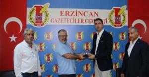 Yüksel'den Erzincan basınına ziyaret