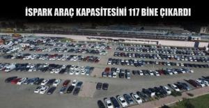 İSPARK  araç kapasitesini 117 bine çıkardı