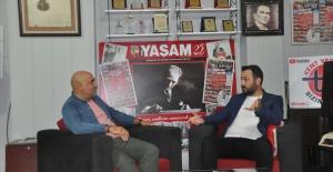 Bozkaya'dan Yaşam Gazetesi'ne ziyaret