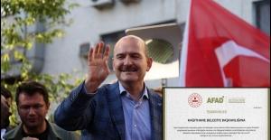 İçişleri Bakanlığı'ndan Kağıthane Belediyesi'ne teşekkür