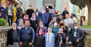 Engelliler Bursa'da tarihi yolculuğa çıktı
