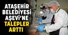 Ataşehir Belediyesi Aşevi'ne talepler arttı