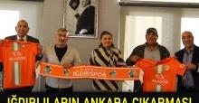 Iğdırlıların Ankara çıkarması