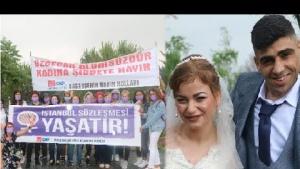 Şiddetli yağmur CHP'li kadınları durduramadı